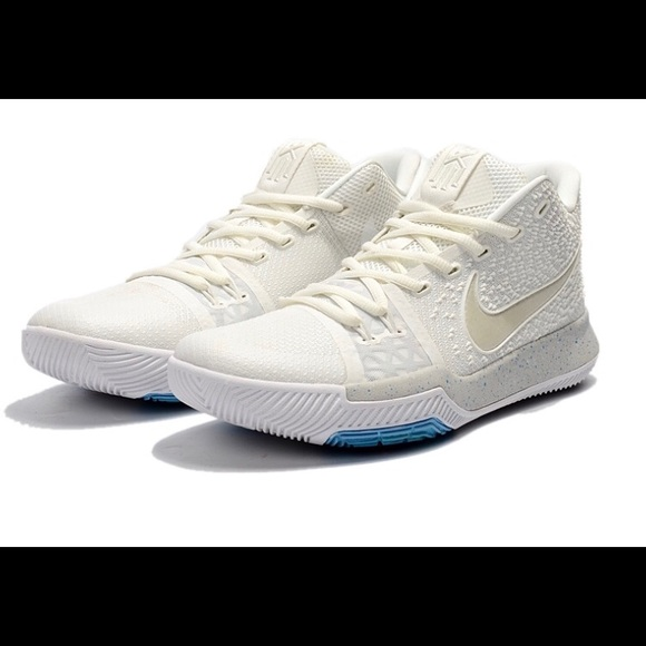 e29269ac31d1 Nike Kyrie 3 Ivory Light Bone Summer Pack Sz 12